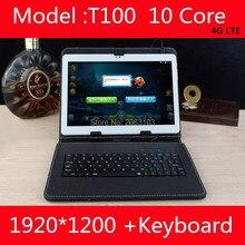 Бесплатная доставка 10 дюймов Tablet PC Дека core 3 г 4 г GPS Android 7.0 4 ГБ 128 ГБ/ 64 ГБ двойной Камера 8.0MP 1920*1200 IPS Экран 10.1″