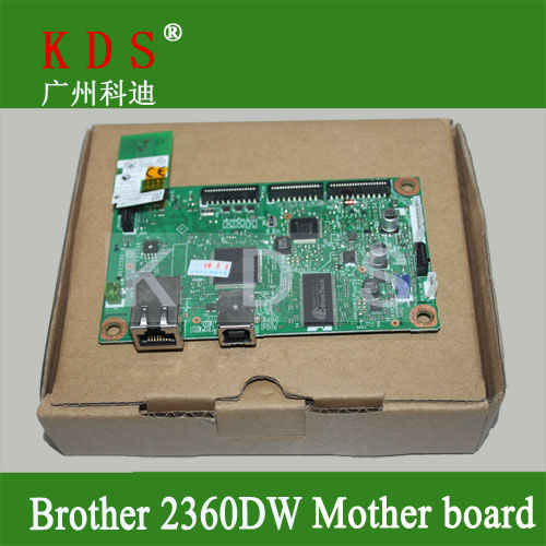 ФОТО Original mother board for brother HL2360DW  formatter board for brother laser printer parts LV1286001 remove from new machine