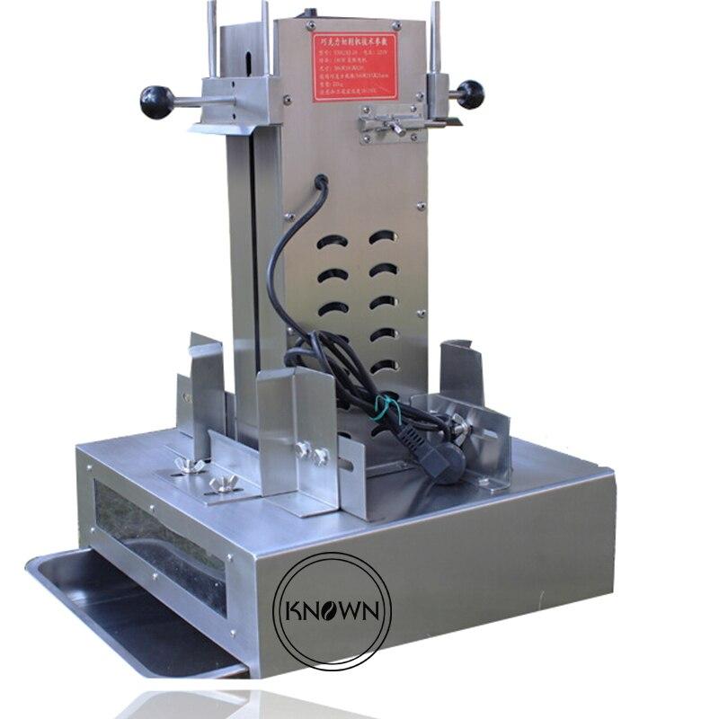 Automatique 36 kg/heure Chocolat Rasage Machine/chocolat machine de découpe/chocolat cutter/Chocolat Trancheuse Rasoir
