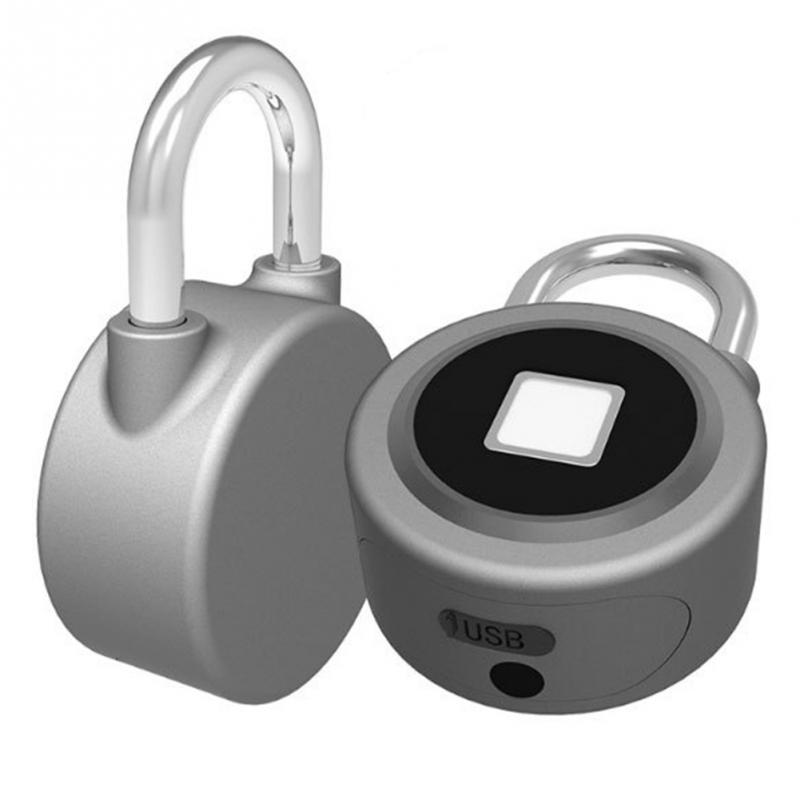 Aluminum Alloy Security D-Proof Security Lockers Smart Digital Print Box Bluetooth Keyless Fingerprint Locking Door Smart
