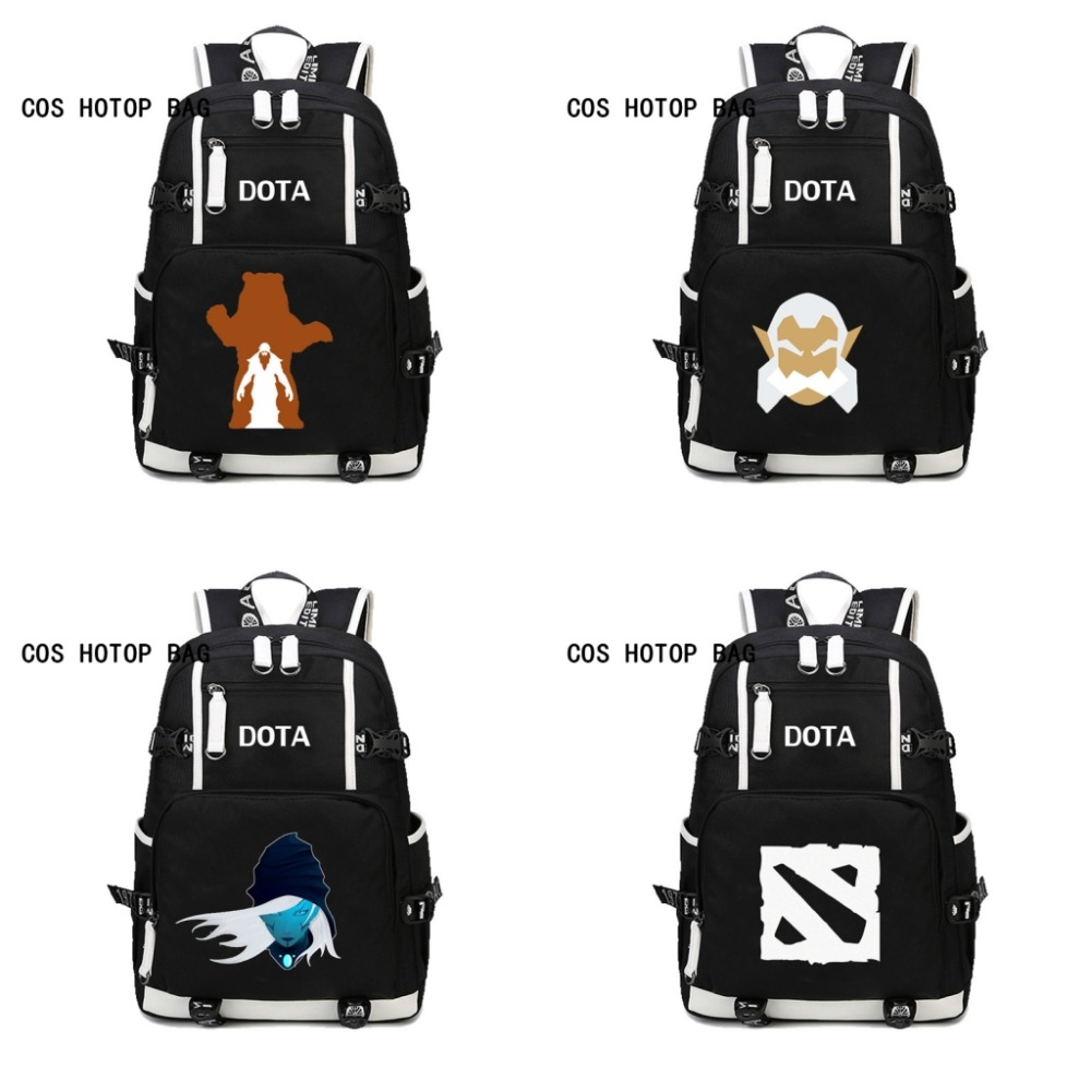 GAME DOTA 2 CSGO Backpack School Bags Mochilas Teenagers Men women's Backpacs travel Shoulder Bag Laptop Bags backpack 15 style 3 pcs set school bags for teenagers girl boy backpack women shoulder travel bags rucksack knapsack set de 3 mochilas escolares