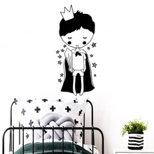 Luxuriant Little Prince Home Decorations Pvc Decal For Kids Rooms Decor Wall Decoration Murals