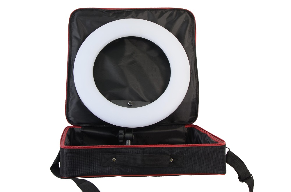 Yidoblo FD 480II Pink Bi color Photo Studio Ring Light + Soft bag LED Video Lamp Photographic Lighting 5500K 480LED Lights - 3