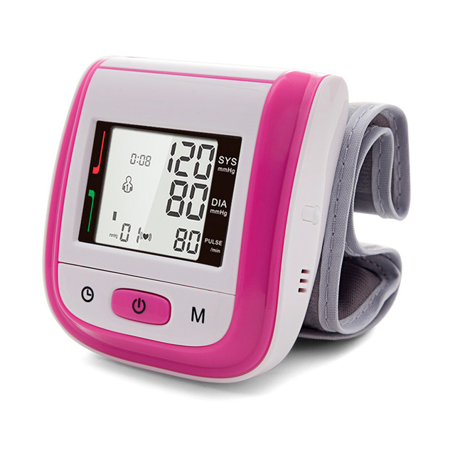 Wrist BP Monitor & LED Fingertip Pulse Oximeter & Baby Ear Infrared Thermometer  3