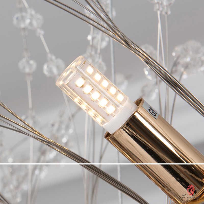 אירופה סגנון אופנה תליית מנורת אמנות דקורטיבי תליון אורות שן הארי ליניארי & כדור צורת 110 V/220 V בית קפה חנות בית תאורה