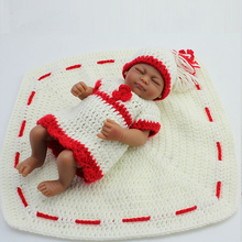 Newest 28cm Silicone Vinyl Baby Reborn Dolls adora chucky Handmade Kids Princess Toys Children bonecas Bebe doll reborn