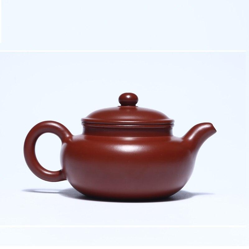 280ml Yixing tetera Zisha viejo barro púrpura famoso completamente hecho a mano Kung Fu té filtro tetera arcilla púrpura tetera con caja de regalo - 2