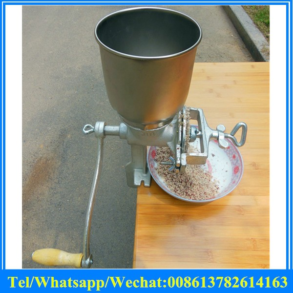 Tall Cast Iron Mill Grinder Hand Crank Manual Grains Chinese Herbal Medicine Oats Corn Wheat Coffee Nuts