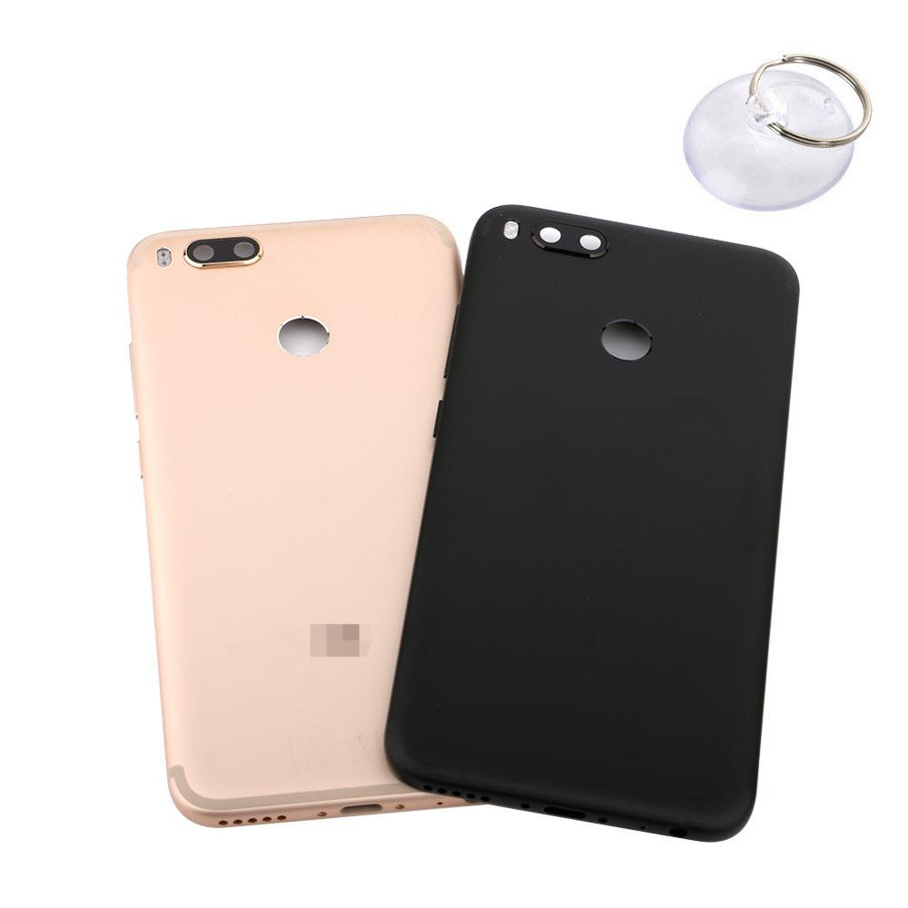 for <font><b>xiaomi</b></font> <font><b>MiA1</b></font> Mi A2 Back Housing Cover Case <font><b>Battery</b></font> Rear Door Replacement <font><b>Battery</b></font> Cover with Suction Cup Open Tool image