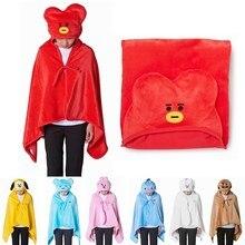 XINTOCH Bangtan обувь для мальчиков Плюшевые игрушечные лошадки tata мягкие одеяло с капюшоном Куклы Плюшевые сна верхняя одежда плащ PP Хлопок подарок д