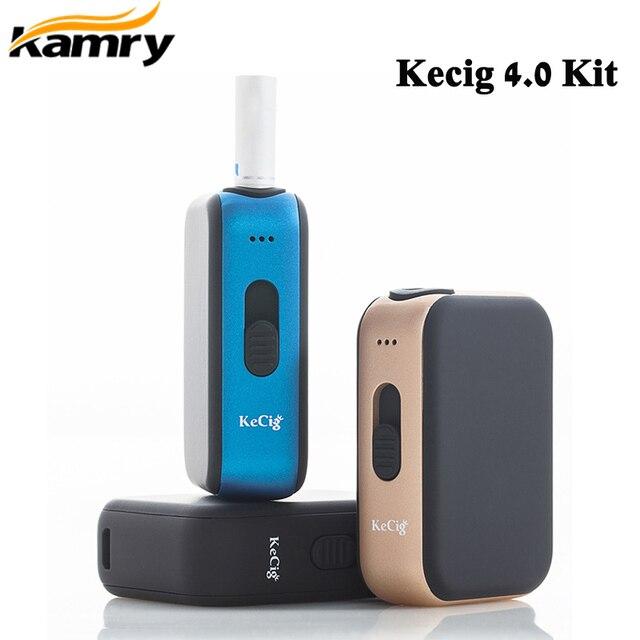 الأصلي Kamry Kecig 4.0 عدة 650mah بطارية لتدفئة خرطوشة التبغ KeCig4.0 صندوق الحرارة Vape E السجائر المرذاذ