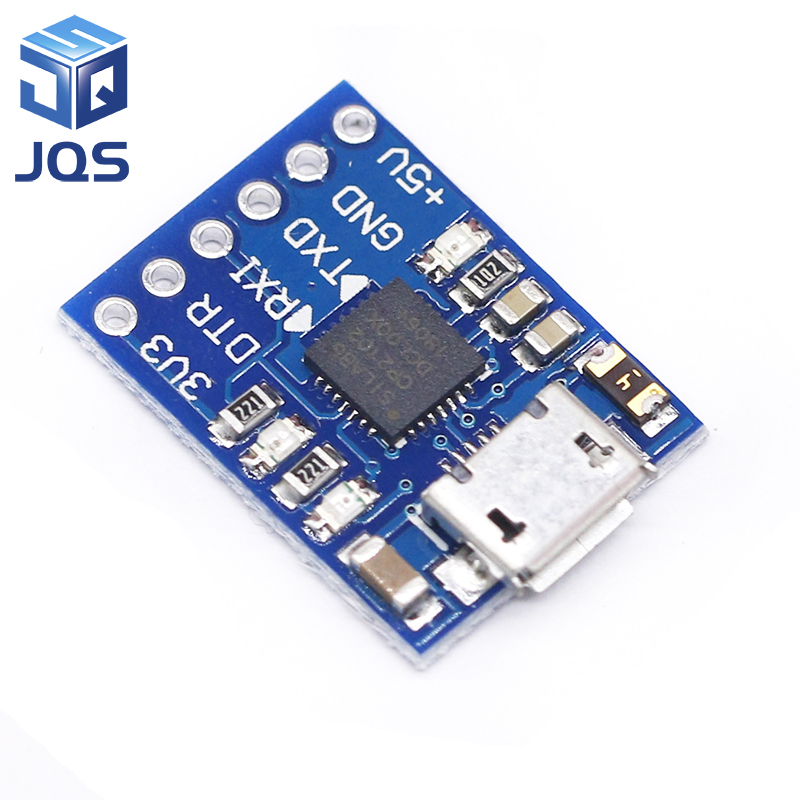 US $0 88 12% OFF|CP2102 MICRO USB to UART TTL Module 6Pin Serial Converter  UART STC Replace FT232-in Replacement Parts & Accessories from Consumer