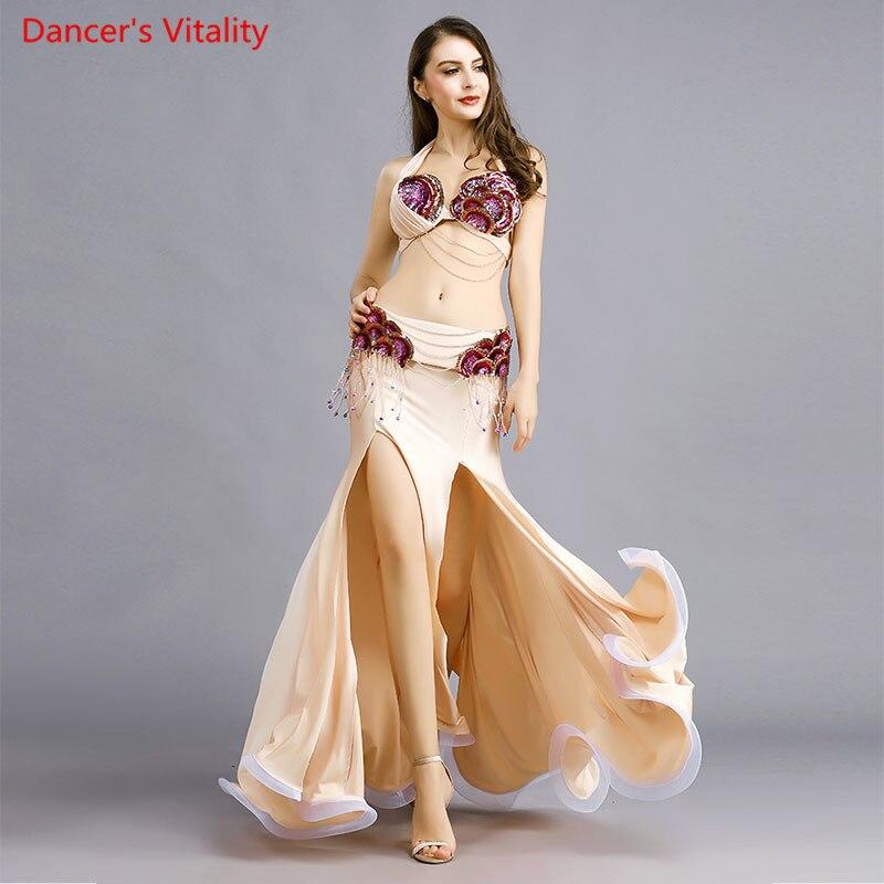 new sexy dance oriental performance show women dress competition 3 piece set S M L Style