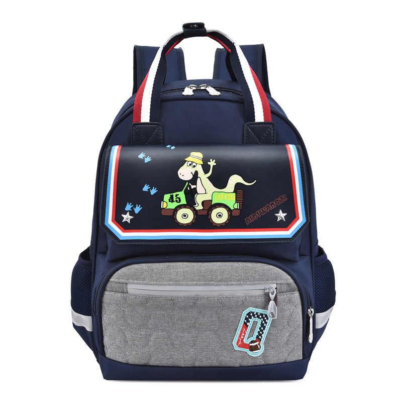 Impermeable de los niños de la escuela de niños niñas ortopédicos mochilas para niños mochilas Escuela Primaria mochilas saco enfant