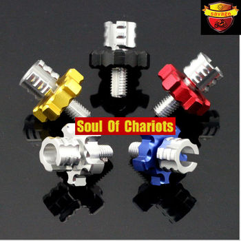 For HONDA CBR125R CBR150R CBR250R CBR300R Motorcycle CNC Billet Clutch Cable Wire Adjuster Screw M8*1.25 5 colors Honda CBR250R