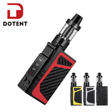 DOTENT SD 80W Electronic Cigarette 510 Thread 3.5ml Atomizer 2000mAh Built-in Battery Metal Body Shisha Pen Vape Starter Kit