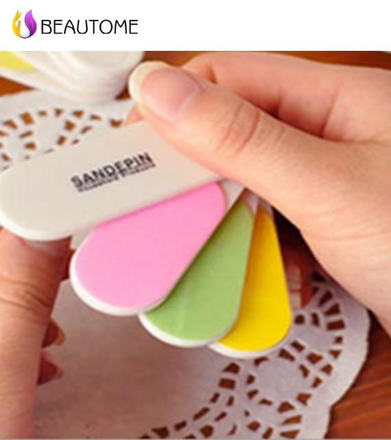 Promoción! colorido mini board Grit Archivos de Arte de Uñas ...