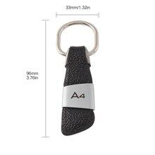 Автомобильный брелок, брелок для ключей, украшение интерьера автомобиля для Audi A3/A4/A5/A6/A7/Q3/Q5/Q7/TT