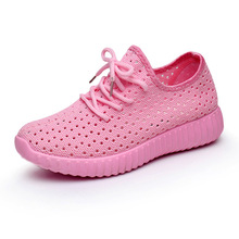 Mesh open running shoes, womens sports breathable, old summer leisurely lightweight women