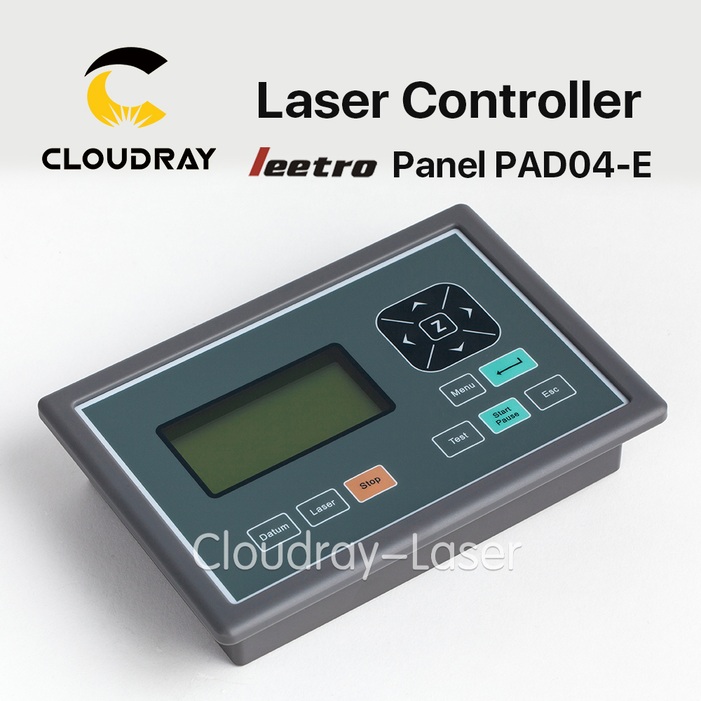 Cloudray Leetro Operation Panel PAD04-E Co2 Laser Controller System for Laser Engraving and Cutting Machine leetro mpc6515 laser controller board for sale mpc6515c controller system