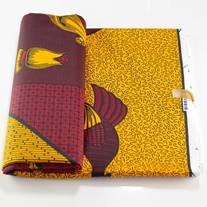 Image 5 - veritable wax guaranteed real wax high quality pagne 6yard african ankara sewing fabric