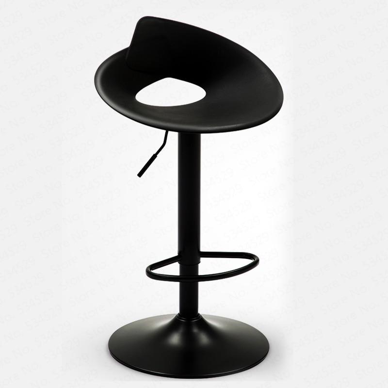 B Bar Chair Lift Modern Minimalist High Stool Creative Stool Commercial Bar Chair Bar Stool Back Bar Chair