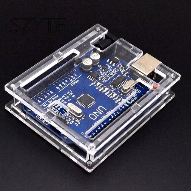Articoli Elettronica Smart, smartwatch, bracciali smart fitness UNO R3 Mega328P CH340G Scheda di Sviluppo per arduino Fai Da Te Starter Kit Invia shell per arduino uno