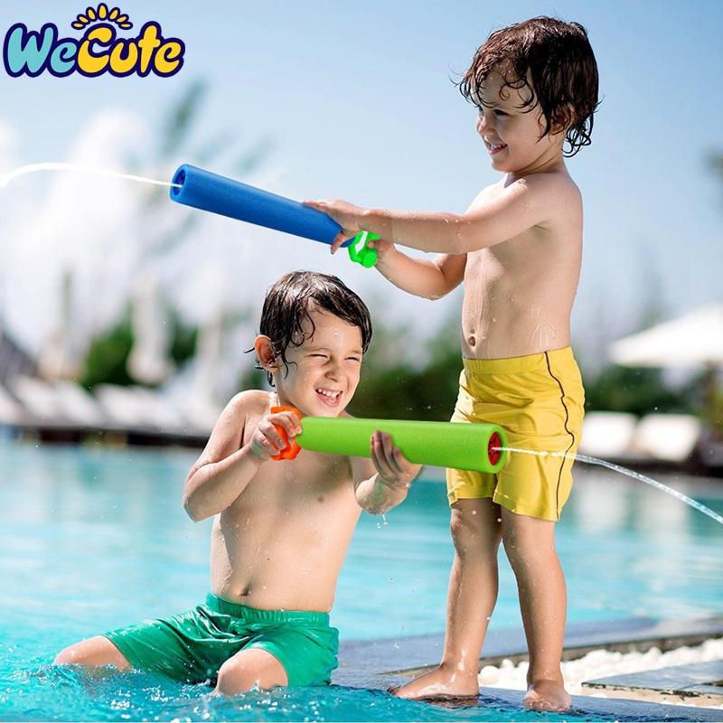 Wecute Children's Water Gun Kids Toys Summer High Pressure Type Extra Large Pumping Water Gel Gun Drifting Water Toys 1PC