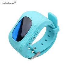 kebidumei Child Anti Lost GPS Smart Tracker Watch Tracker For Kids SOS GSM Emergency GSM Smart Bracelet Wristband Alarm(China)
