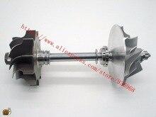 TB34 Турбо части турбины колеса 49.2×64.8 мм, 11 лезвия, компрессор колеса 47.2×75 мм, 6/6, поставщик AAA Частей Турбокомпрессора