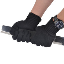 3 Pair Cut Proof Stab Protect Stainless Steel Wire Outdoor Gloves Cut Metal Mesh Butcher Anti