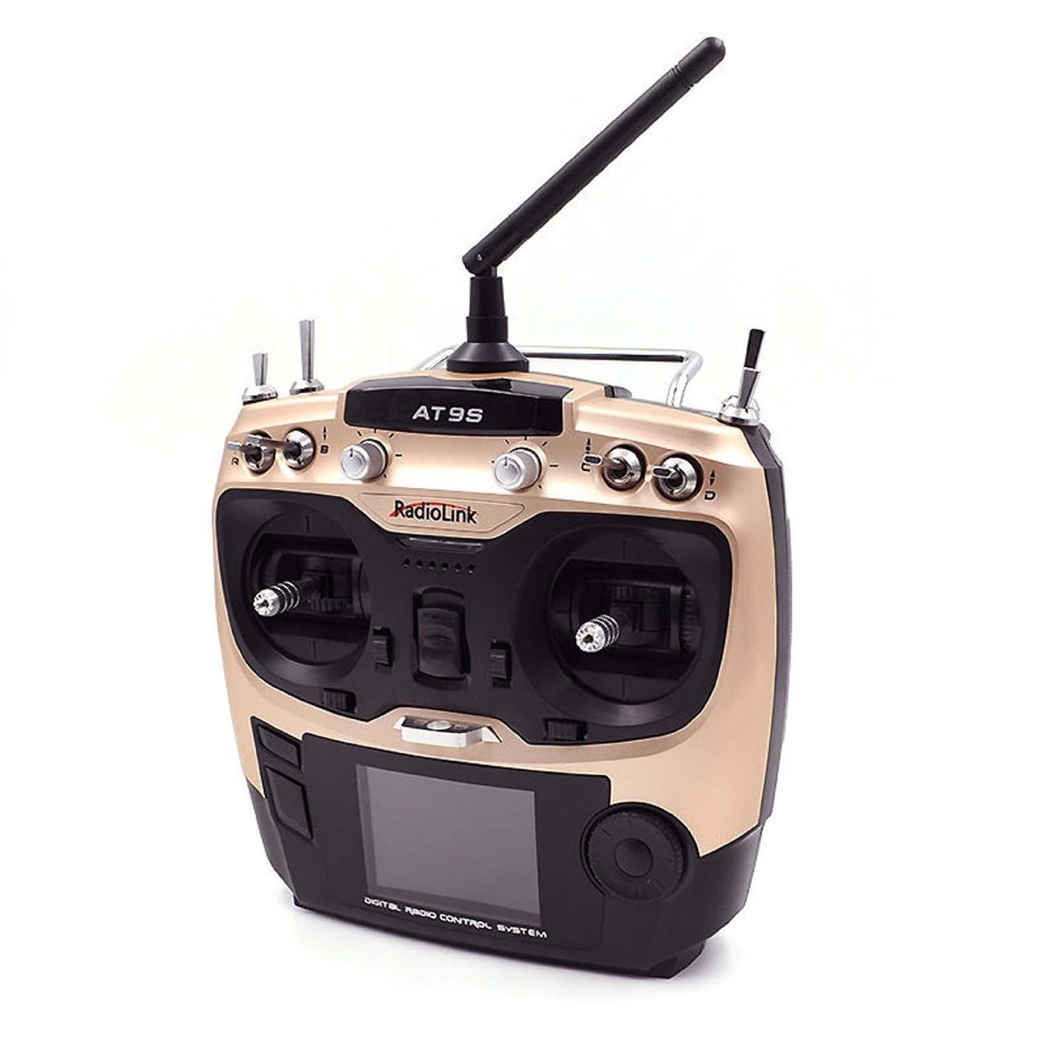 Radiolink 2.4G AT9S R9DS Radio Control System 9CH Transmitter /& Receiver Mode 2