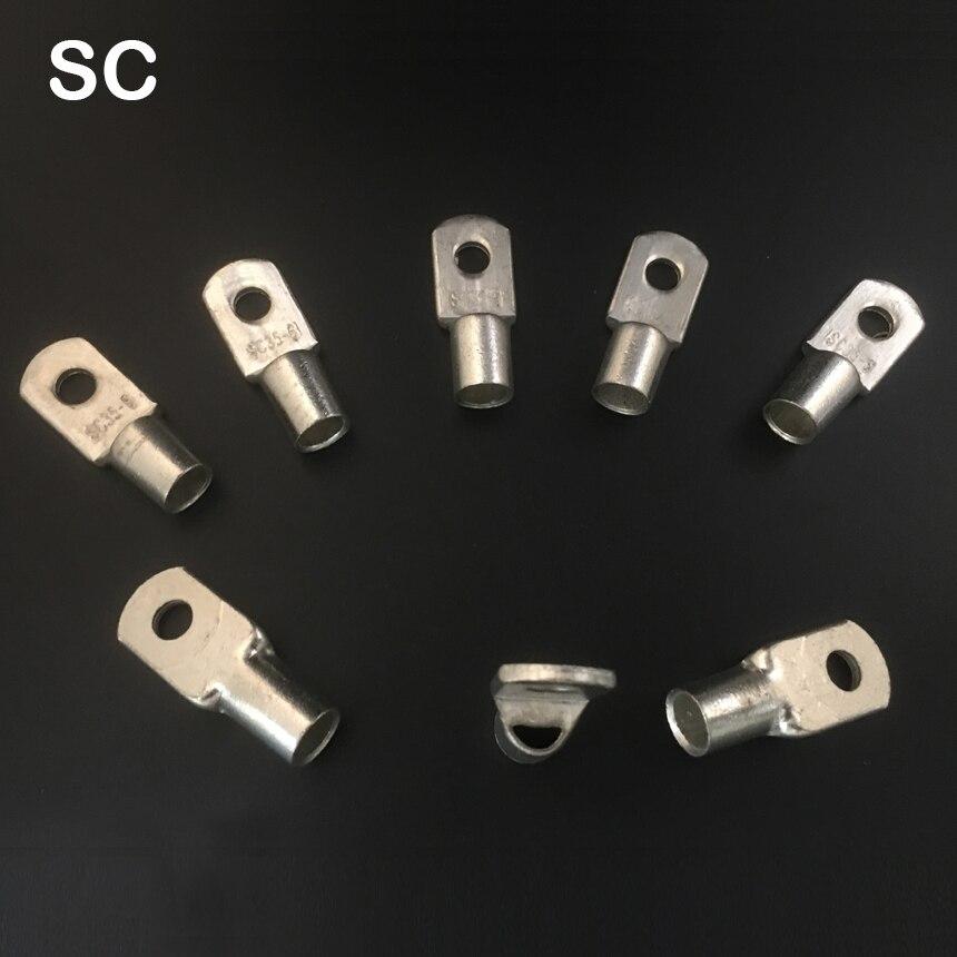 SC16 8 SC16 12 SC50 8 SC50 10 Оловянная медь кабель, провод кабеля рифлёная Батарея разъем обжимной терминала