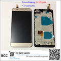 100%original!White,blackor golden  LCD Display +Touch Screen Digitizer Assembly For Huawei honor 4X  with frame free shipping