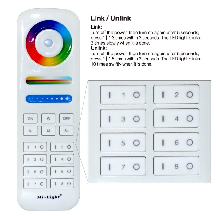 b8 b4 t4 ibox1 ibox2 2.4g controlador