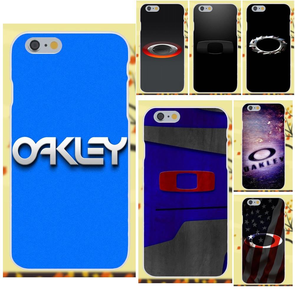 Oakley Fashion Clothing Brand Logo TPU Call Box For Apple