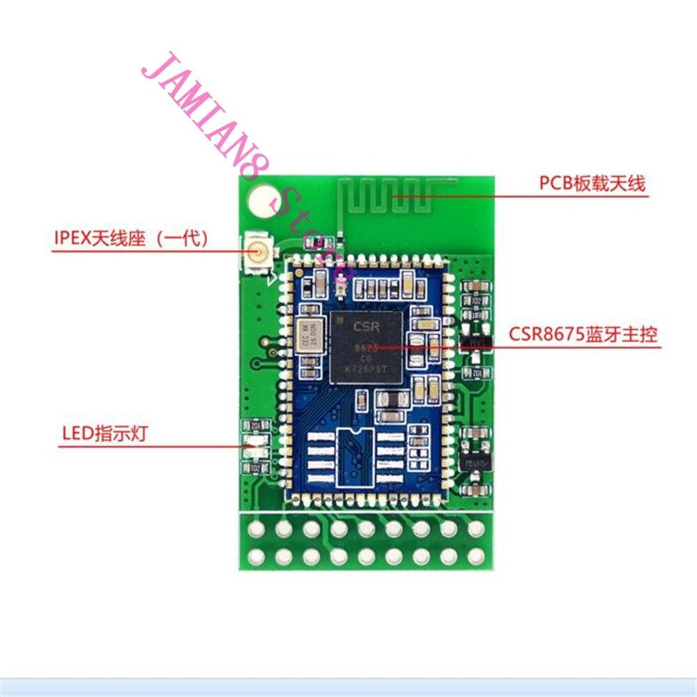 Digital-analog-wandler Haben Sie Einen Fragenden Verstand Freies Verschiffen Accalia 2019 Neue Heiße Csr8675 Bluetooth 5,0 Audio Modul Faser Spdif I2s Iis Aptx-hd Ipex Antenne Basis Version Unterhaltungselektronik