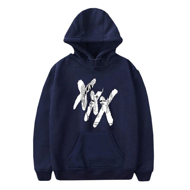 Xxxtentacion Hoodies Sad Men Sweatshirts Rap Rapper Hip Hop Hooded Pullover Sweatershirts Male/Women Sudaderas Hood Hoddie