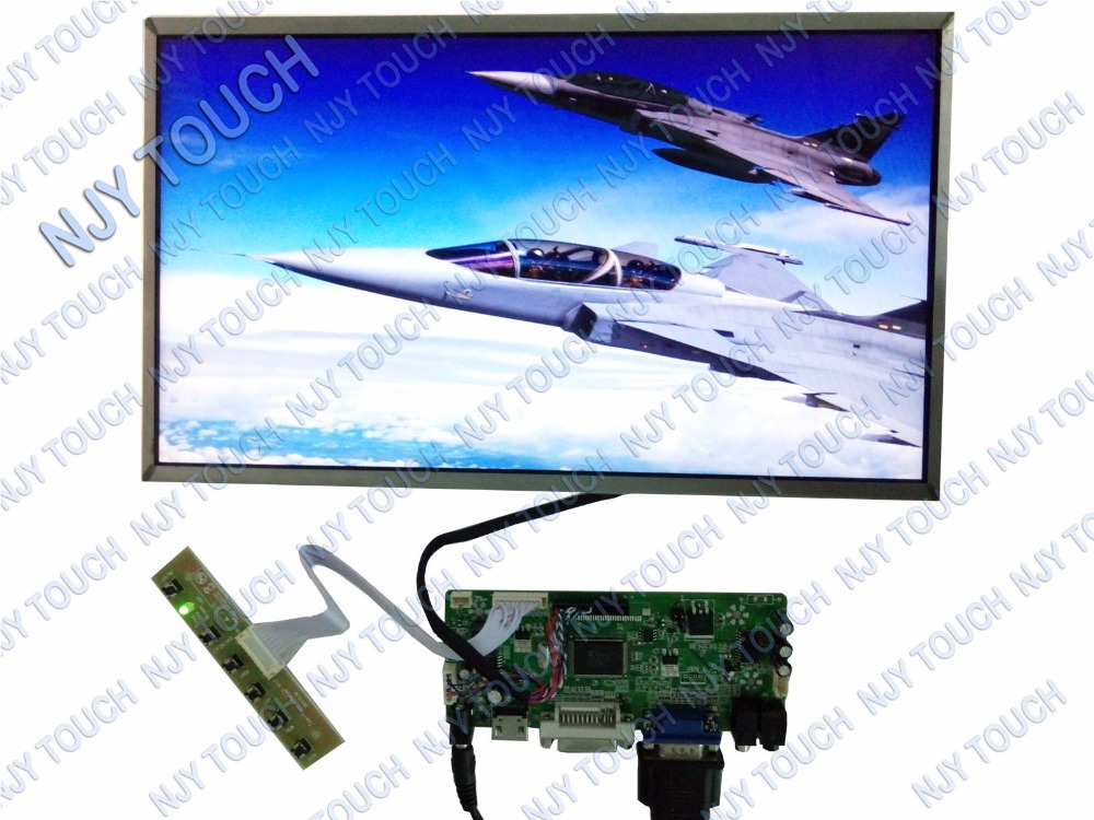 HDMI VGA AV Audio USB FPV LCD Controller Board kit Plus 14inch LTN140AT07 LP140WH1 LCD Display Screen TFT Monitor new 3 5 tft pd035vx2 640x480 lcd screen vga av lcd controller board kit for projection