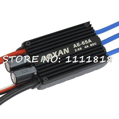 65A ESC Brushless Speed Controller 2-6S Li-Po for RC Glider Helicopter Airplane brushless esc 5a 1s electric speed controller