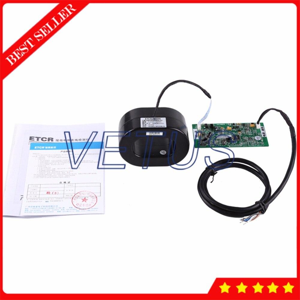 ETCR2800N встроенный Бесконтактный измеритель сопротивления заземления онлайн тестер мониторинга