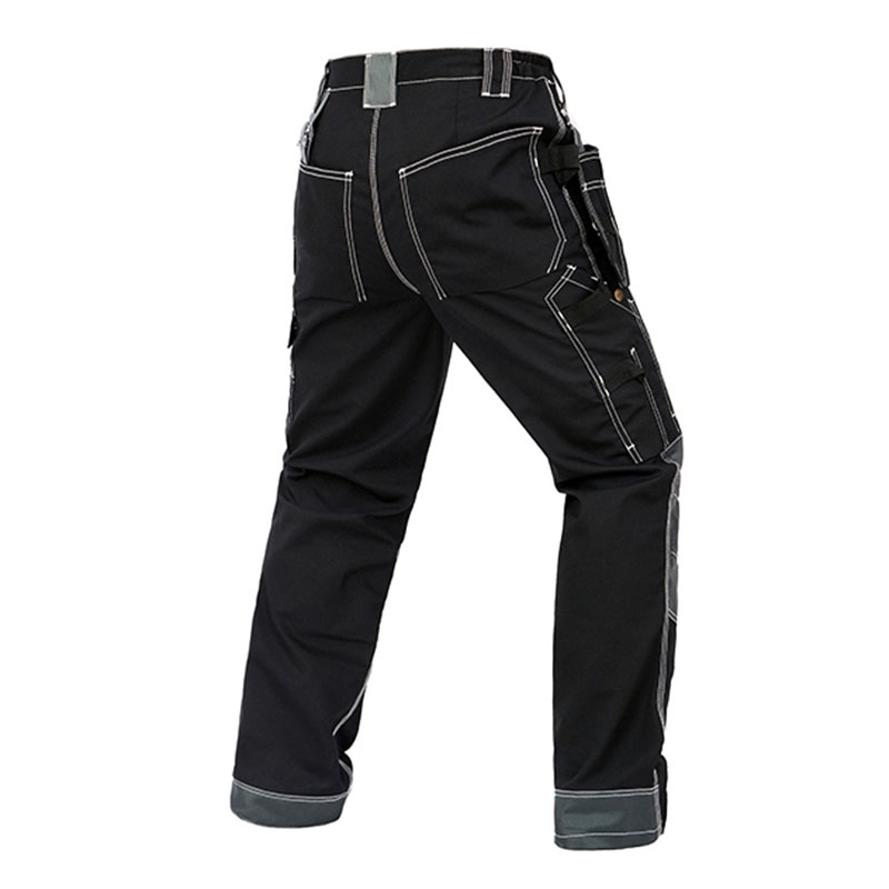 Image 3 - Men Working Pants Multi Functional Pockets Wear resistance Workwear trousers High quality Work Mechanic Repair Mens Cargo Pants-in Safety Clothing from Security & Protection