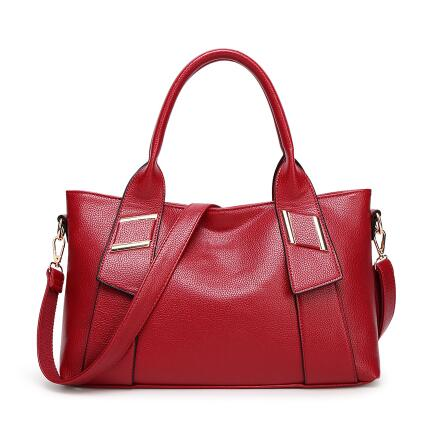 China Designer Handbags Autumn And Winter Large Brief Genuine Leather Shoulder Bag Las Brand Name In Bags From