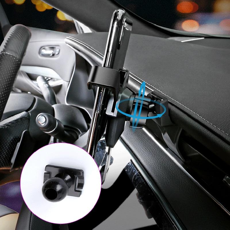 (nur Fit Für Linkslenker) Mobile Handy-halter-auto Air Vent Halterung Ständer Cradle Für Cadillac Xt4 2018 2019