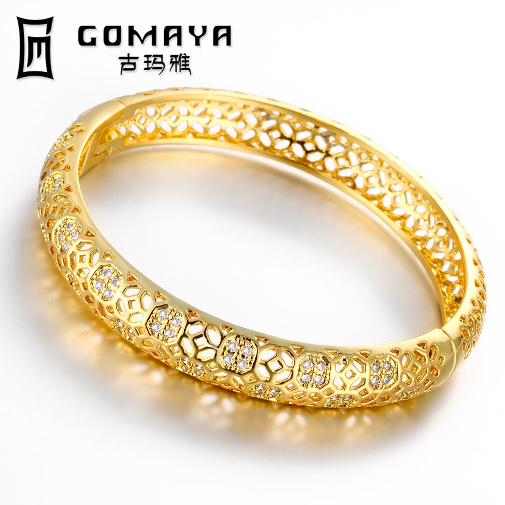 Brand New Carter Love Bracelet Bangles Crystal Bracelets gold color Love Bangle Jewelry For Women Pulseiras Z033-A