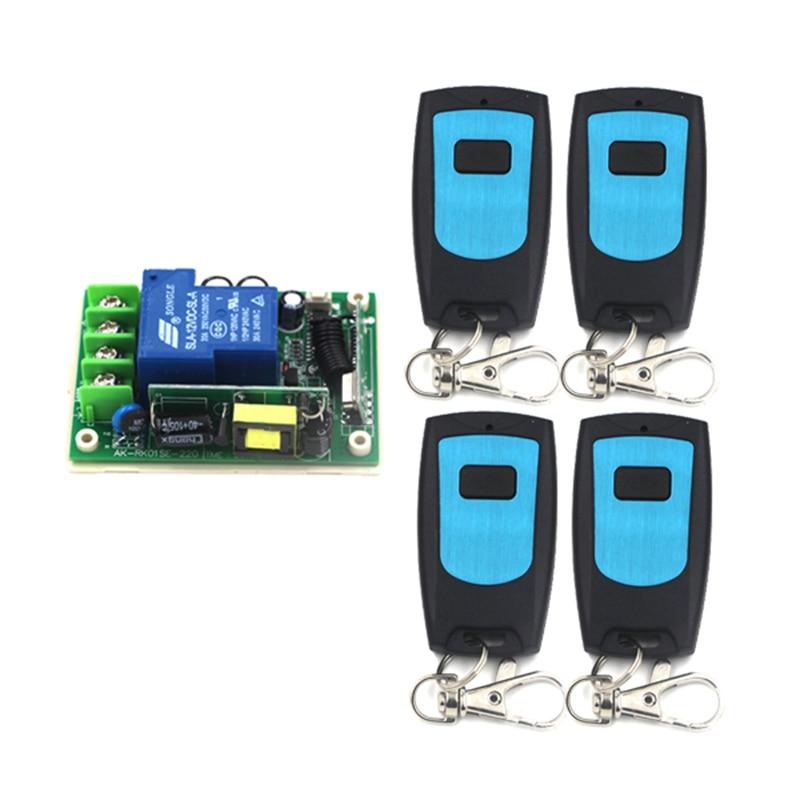 цена на -105dBm 200m 80V to 250V 315MHZ high power 1CH RF switch/Remote controls for motor controlling 4149