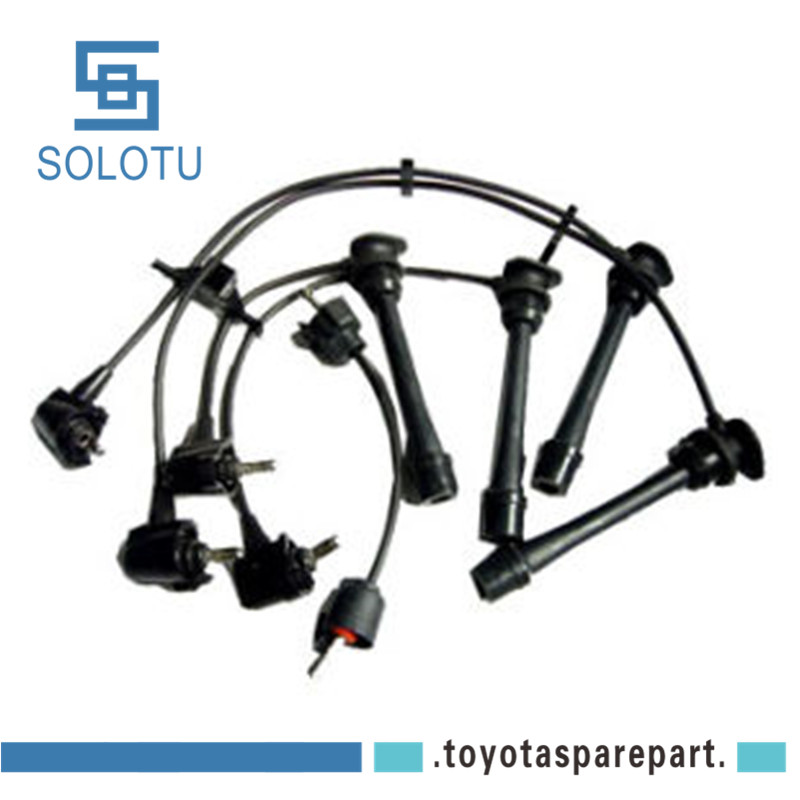 Ignition Spark Plug Cable Kit For Previa 2tz Tcr10 Tcr20 90919