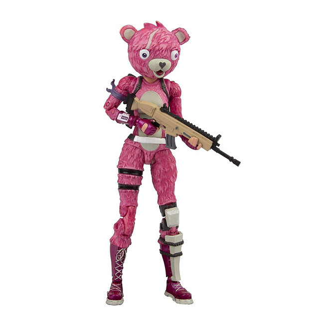 19cm New Hot Fortress Night Battle Royale Trooper Cuddle Team Leader Pink Premium 7