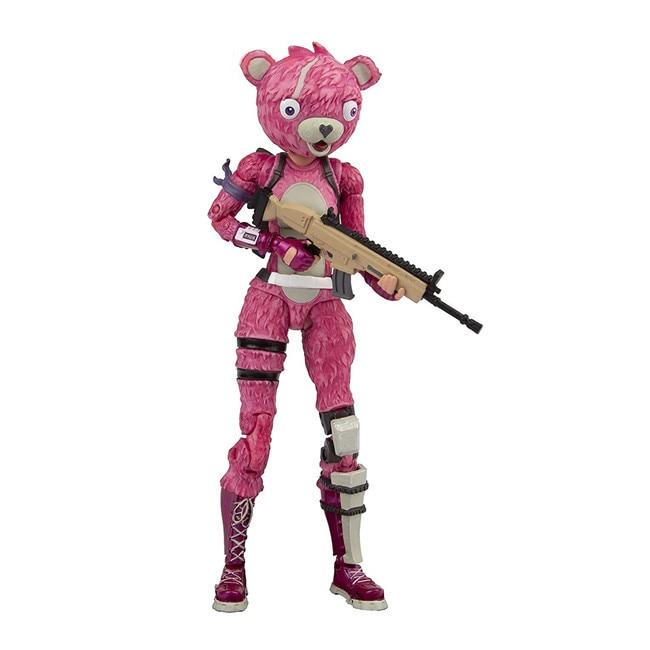 19cm New Hot Fortress Night Battle Royale Trooper Cuddle Team Leader Pink Premium 7