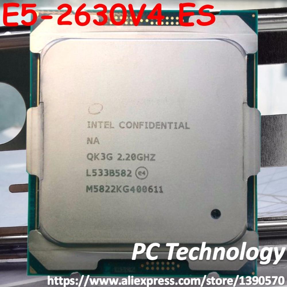 Original Intel Xeon Processor ES E5 2630V4 QK3G 2 20GHz 10Core 25MB E5 2630 V4 LGA2011